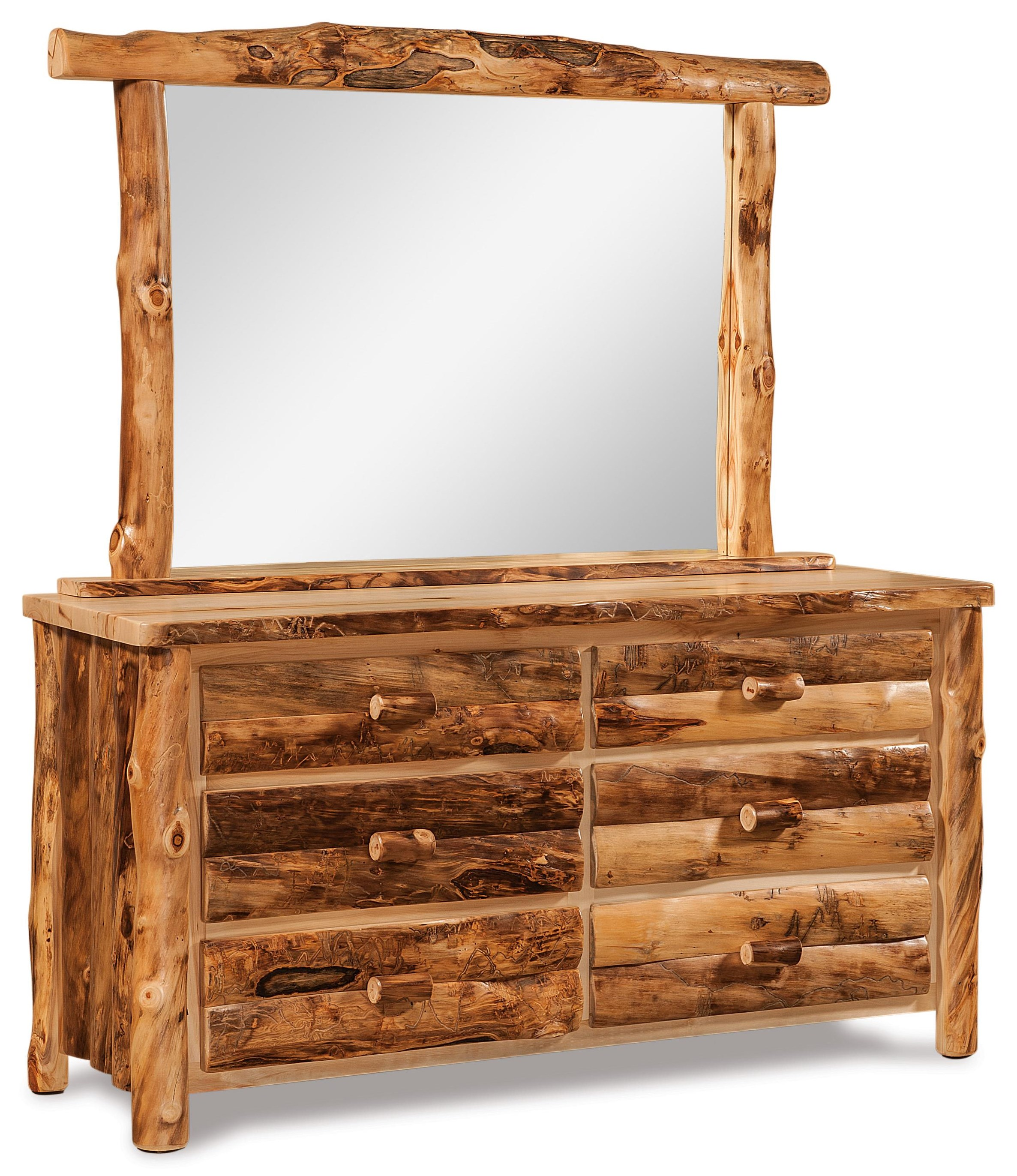 6 Drawer & Mirror