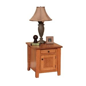 Enclosed End Table