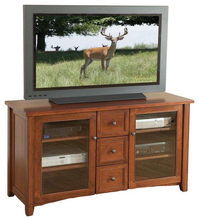 """Madison 56"""" TV Console by Wayside Custom Furniture at Wayside Furniture"""