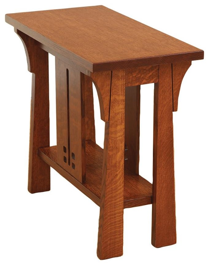 Cantebury Chairside Table by Wayside Custom Furniture at Wayside Furniture