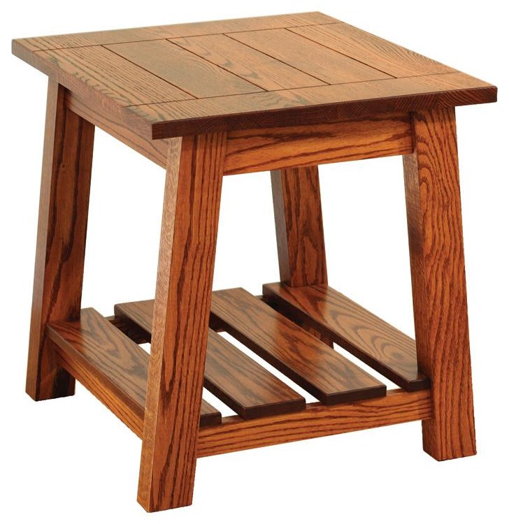 Edgewood End Table by Wayside Custom Furniture at Wayside Furniture