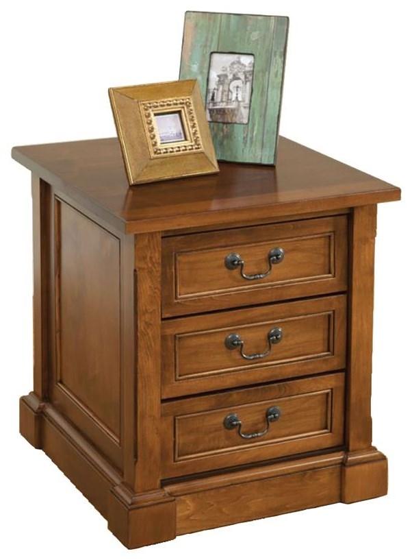 Bridgeport End Table by Wayside Custom Furniture at Wayside Furniture
