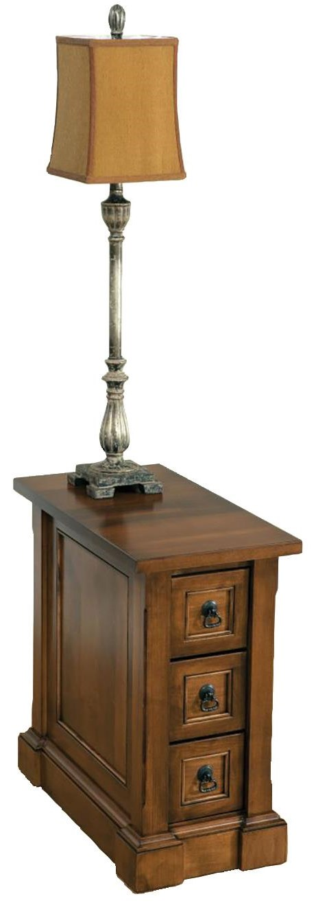 Bridgeport Chairside Table by Wayside Custom Furniture at Wayside Furniture