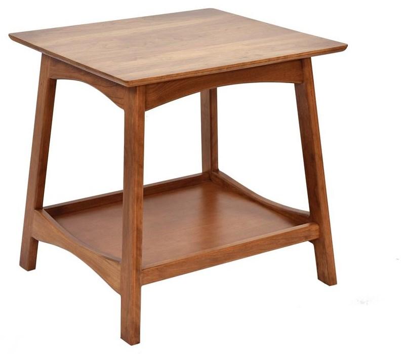 Laurel End Table by Wayside Custom Furniture at Wayside Furniture