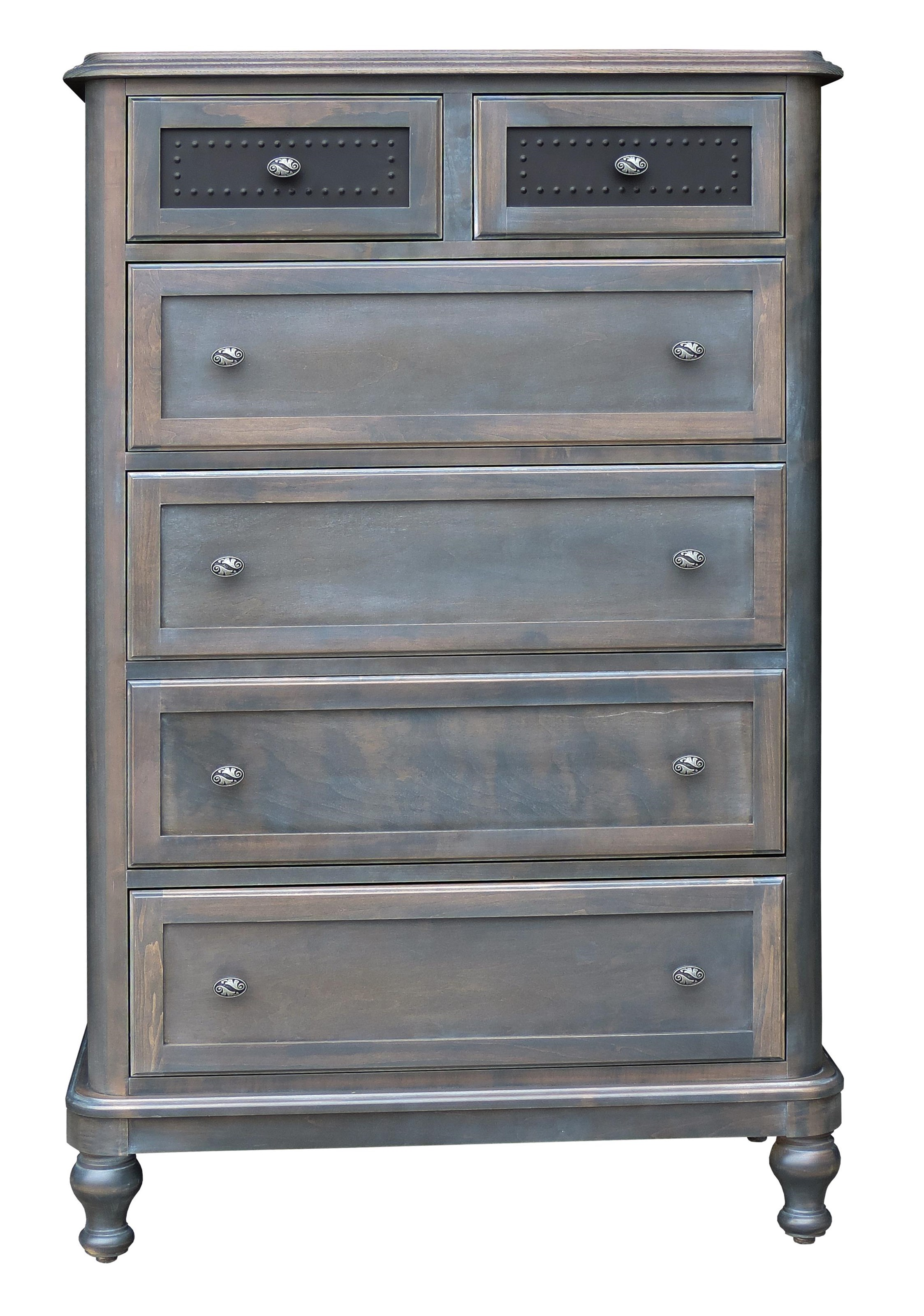 Tribecca 6 Drawer Chest by Wayside Custom Furniture at Wayside Furniture