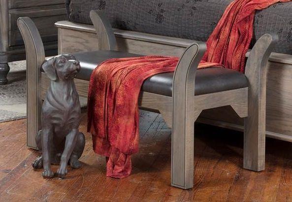Tribecca Bench by Wayside Custom Furniture at Wayside Furniture