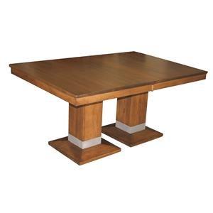 Alcoe Double Pedestal Table