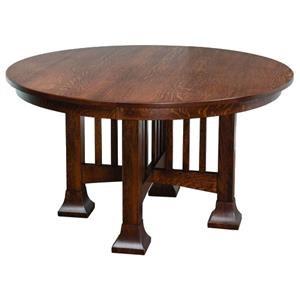 Mesa Single Pedestal Table