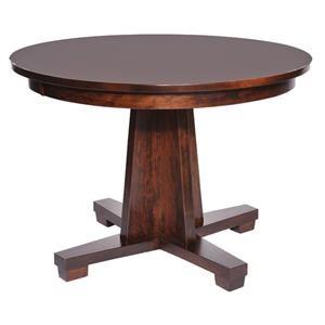 Modern Single Pedestal Table