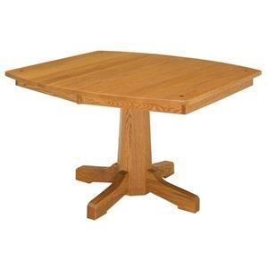 Pinnacle Single Pedestal Table