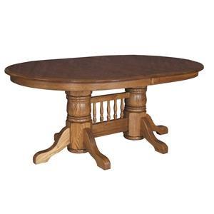 Standard Double Pedestal Table