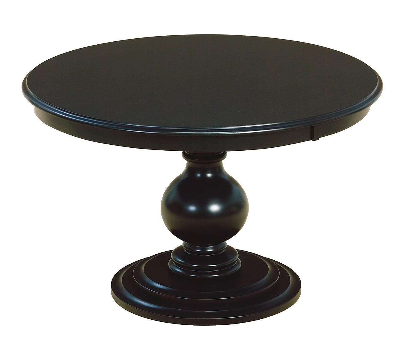 Kountry Knob Stanton Single Pedestal Table by Wayside Custom Furniture at Wayside Furniture