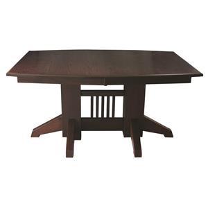 Shaker Double Pedestal Table