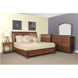 4pc Queen Bedroom Group