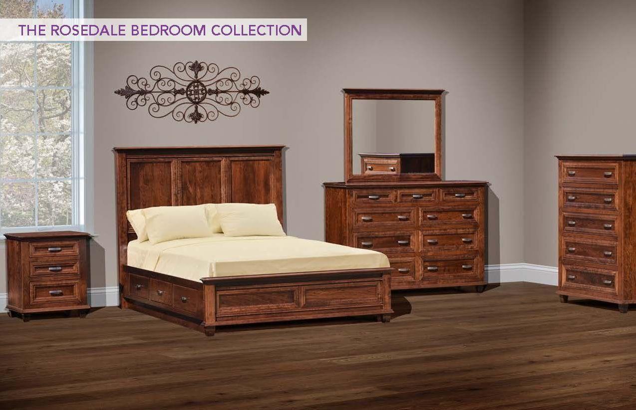 4pc Queen Bedroom Group 1
