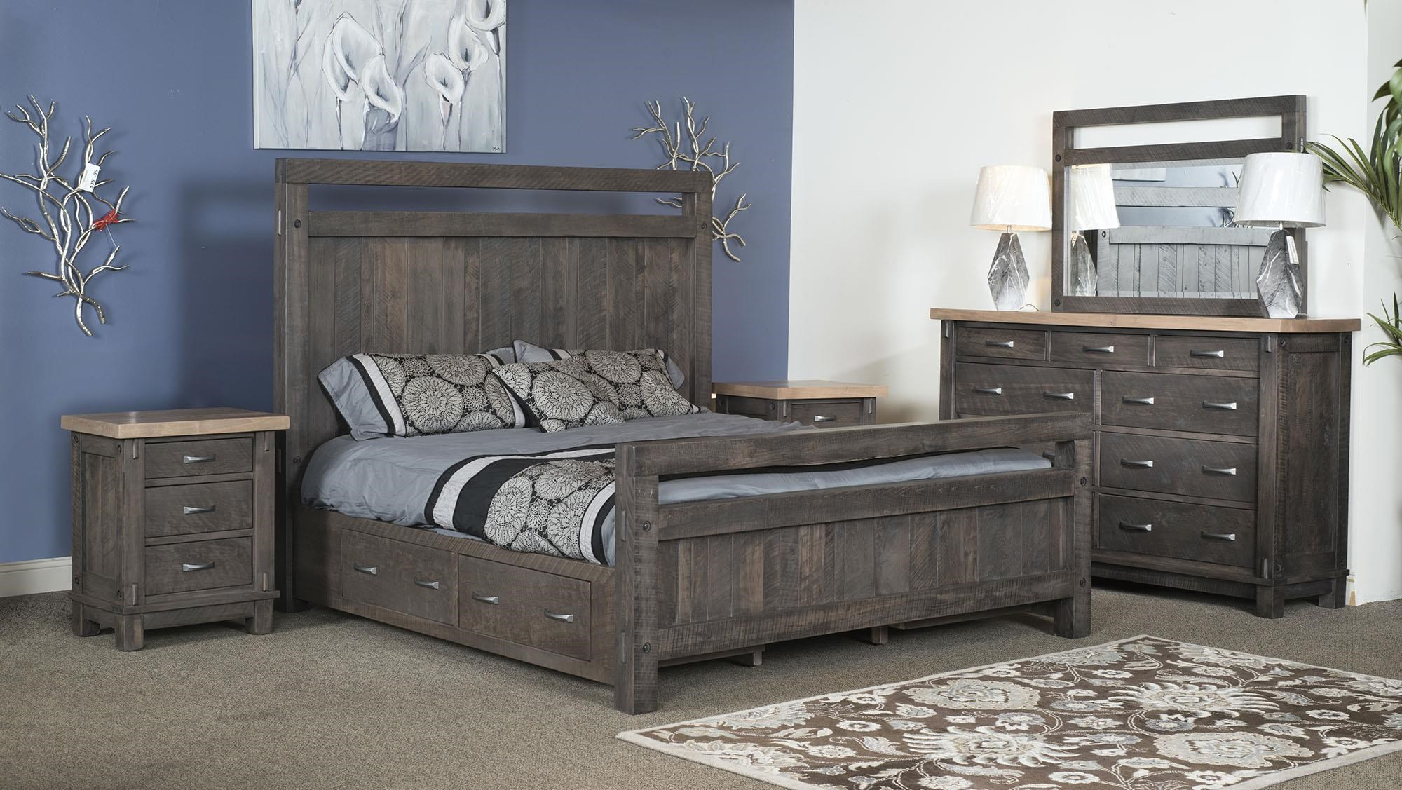 Timber Bedroom Timber Bedroom Group by Wayside Custom Furniture at Wayside Furniture