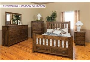 4pc Queen Bedroom Group 3