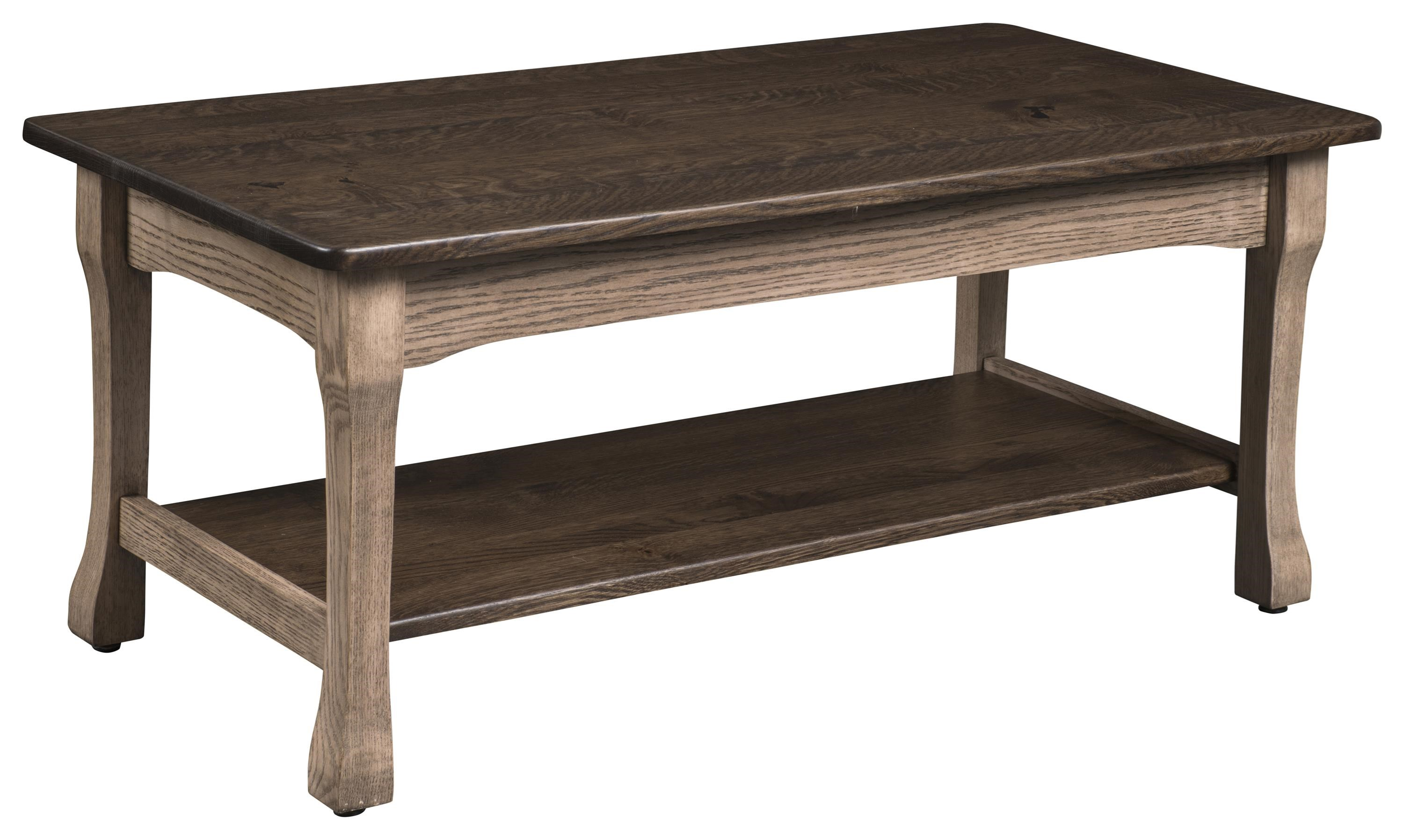 Fairfield Cocktail Table by Wayside Custom Furniture at Wayside Furniture