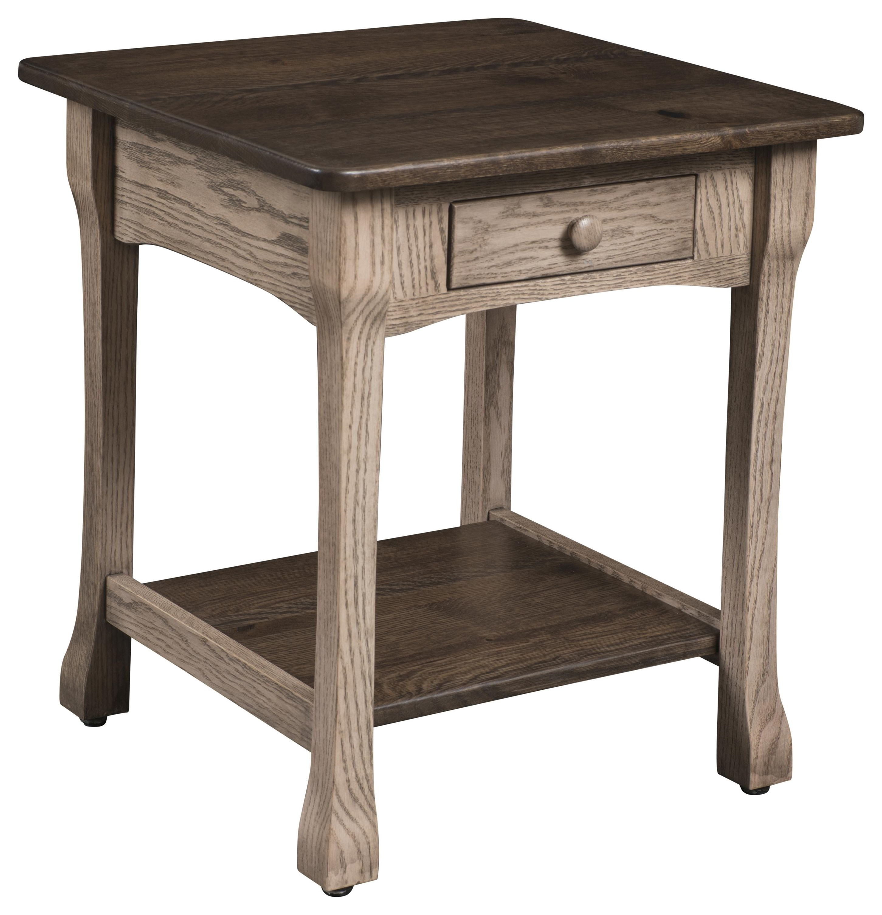 Fairfield End Table by Wayside Custom Furniture at Wayside Furniture