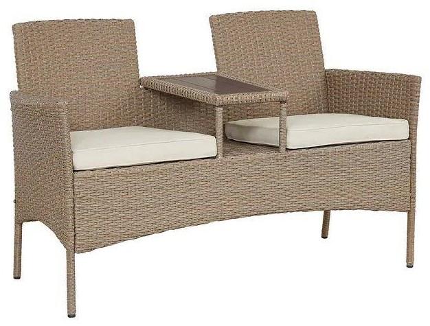 Patio Furniture Settee by Wayside Furniture at Wayside Furniture