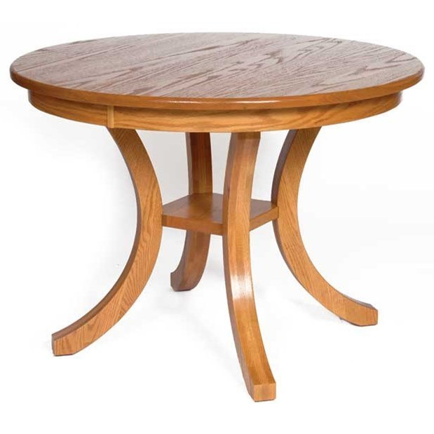 Custom Amish Dining Carlisle Table by Weaver Woodcraft at Saugerties Furniture Mart