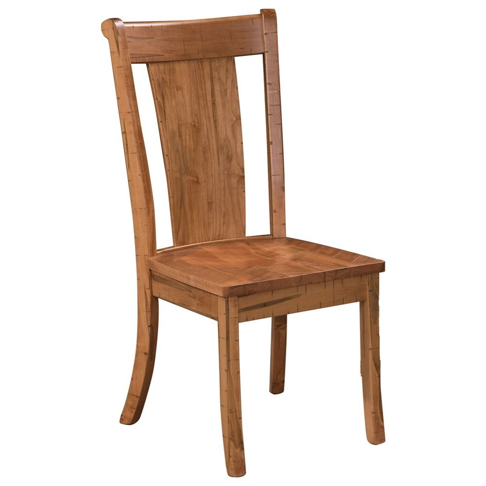 Brady Customizable Dining Chair by Weaver Woodcraft at Saugerties Furniture Mart