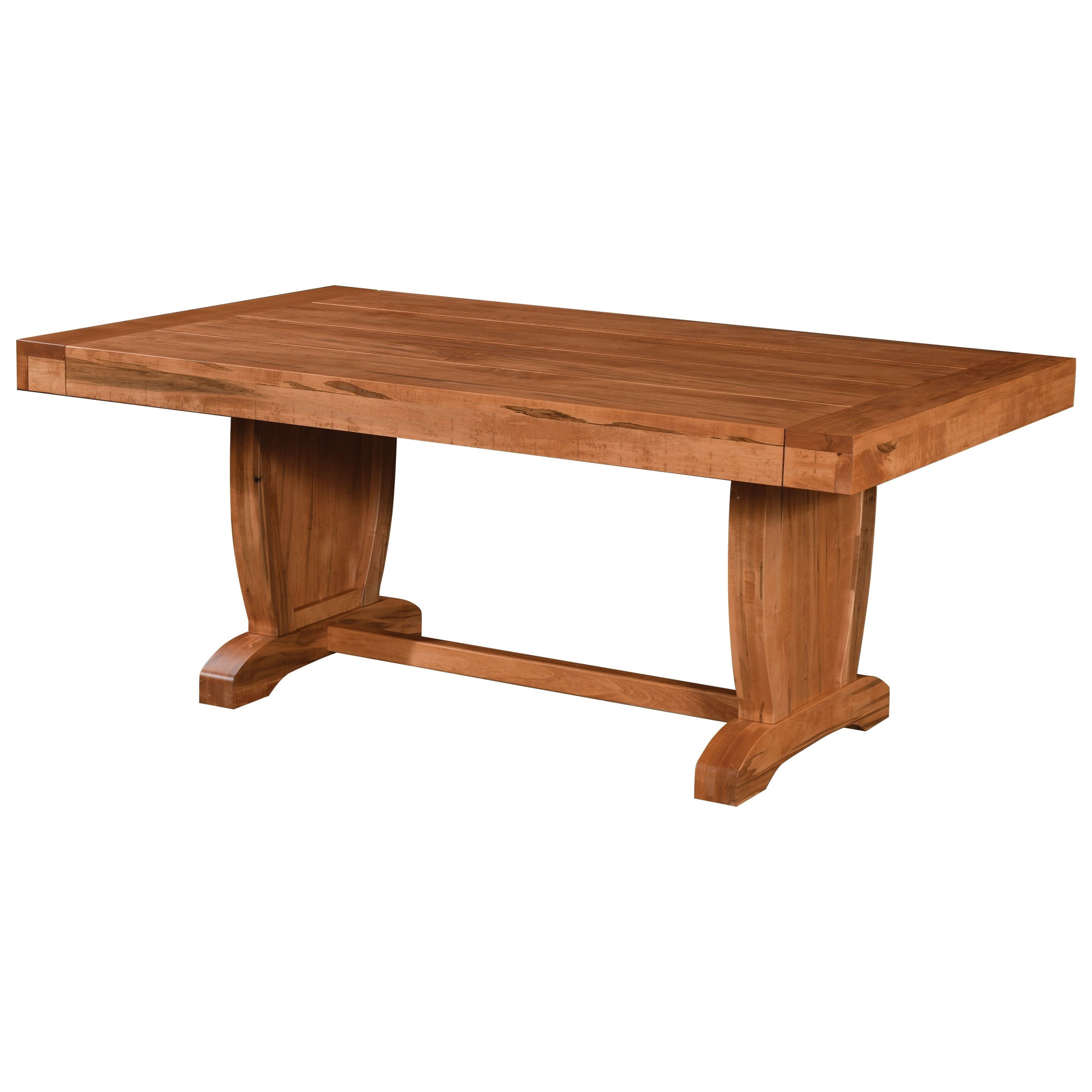 Chuckwagon Customizable Dining Table by Weaver Woodcraft at Saugerties Furniture Mart