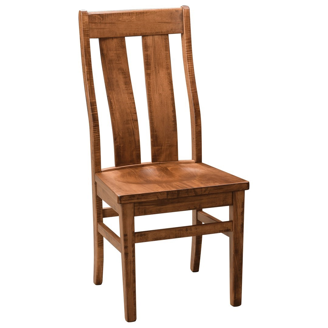 Emerson Customizable Dining Side Chair by Weaver Woodcraft at Saugerties Furniture Mart