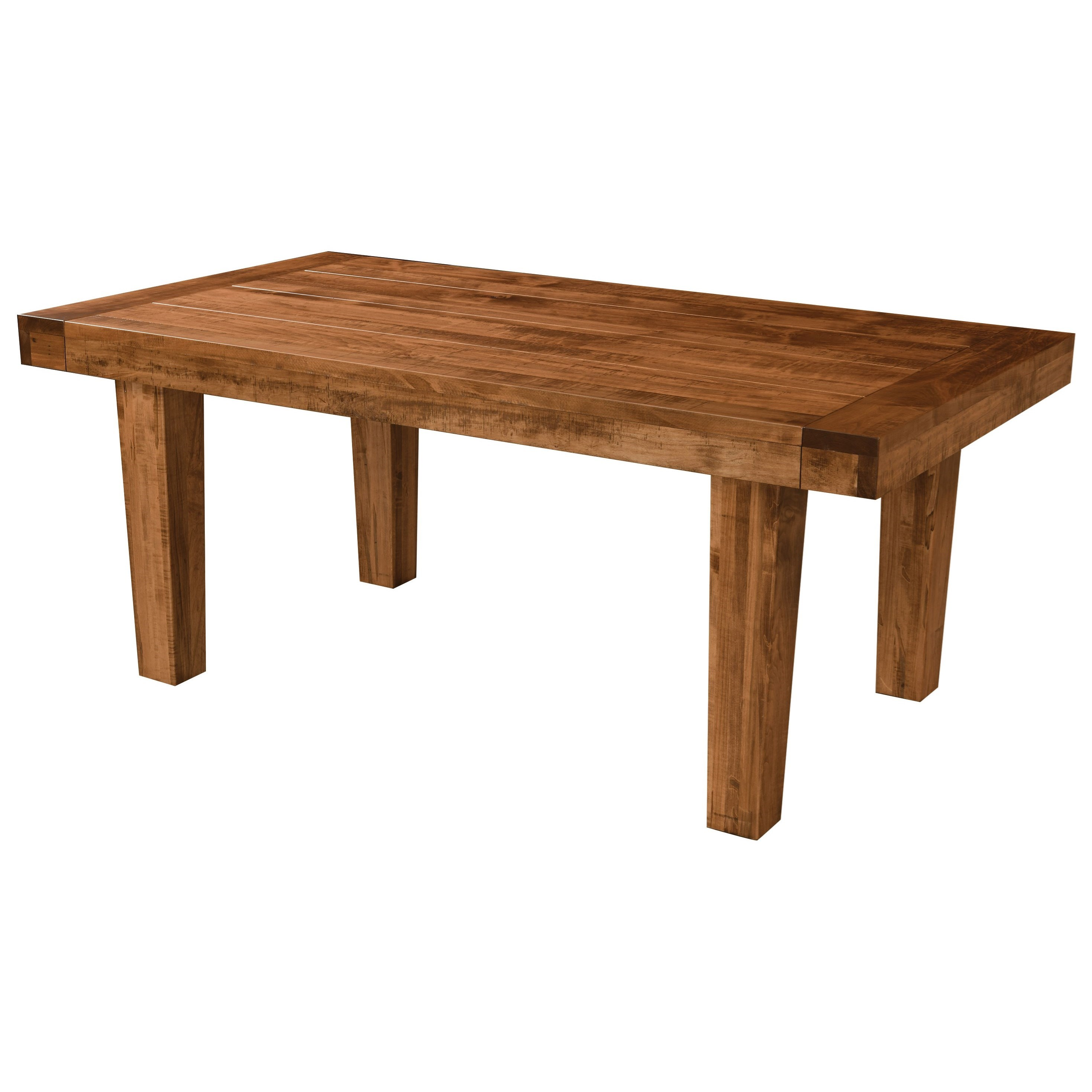 Empire Customizable Dining Table by Weaver Woodcraft at Saugerties Furniture Mart