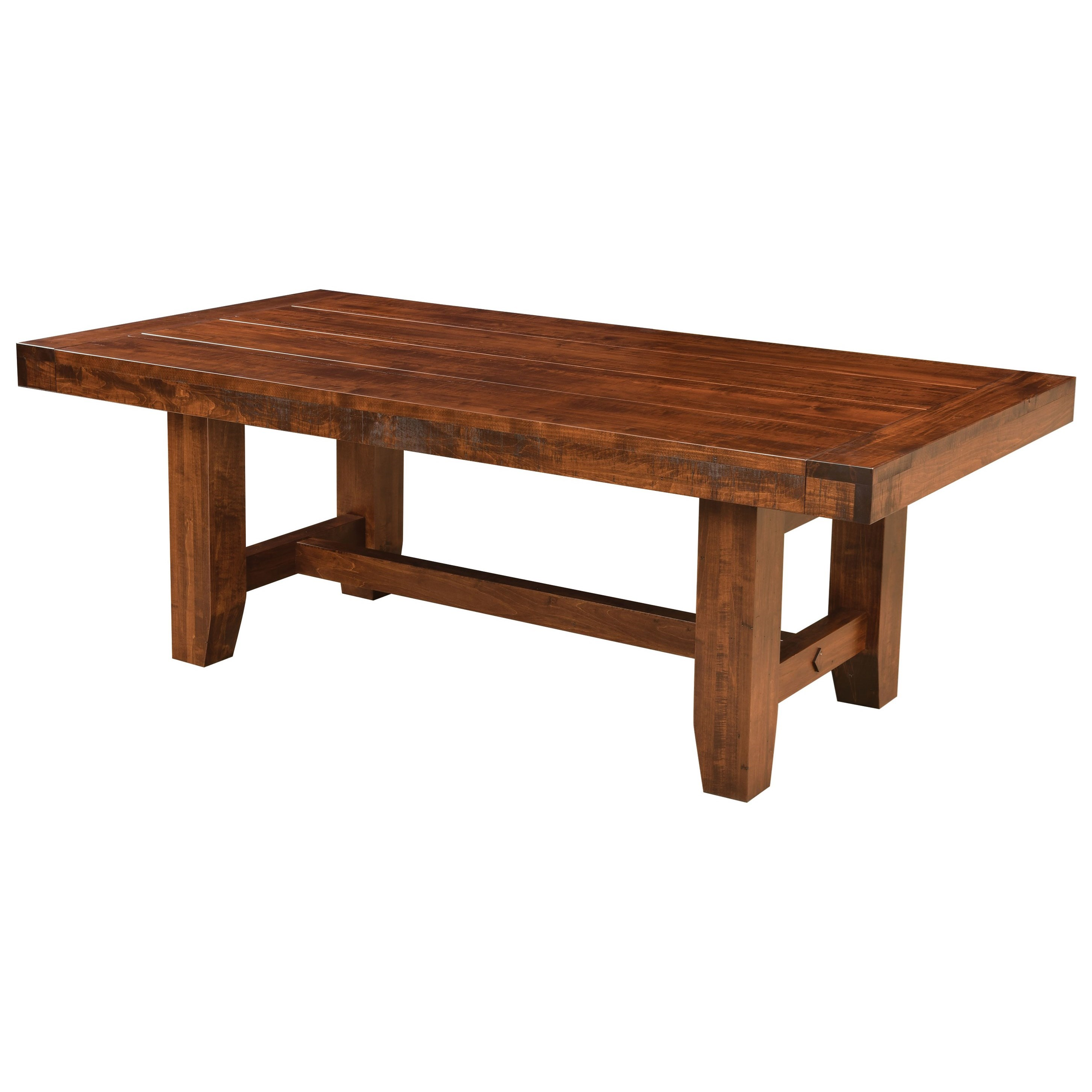 Houston Customizable Dining Table by Weaver Woodcraft at Saugerties Furniture Mart