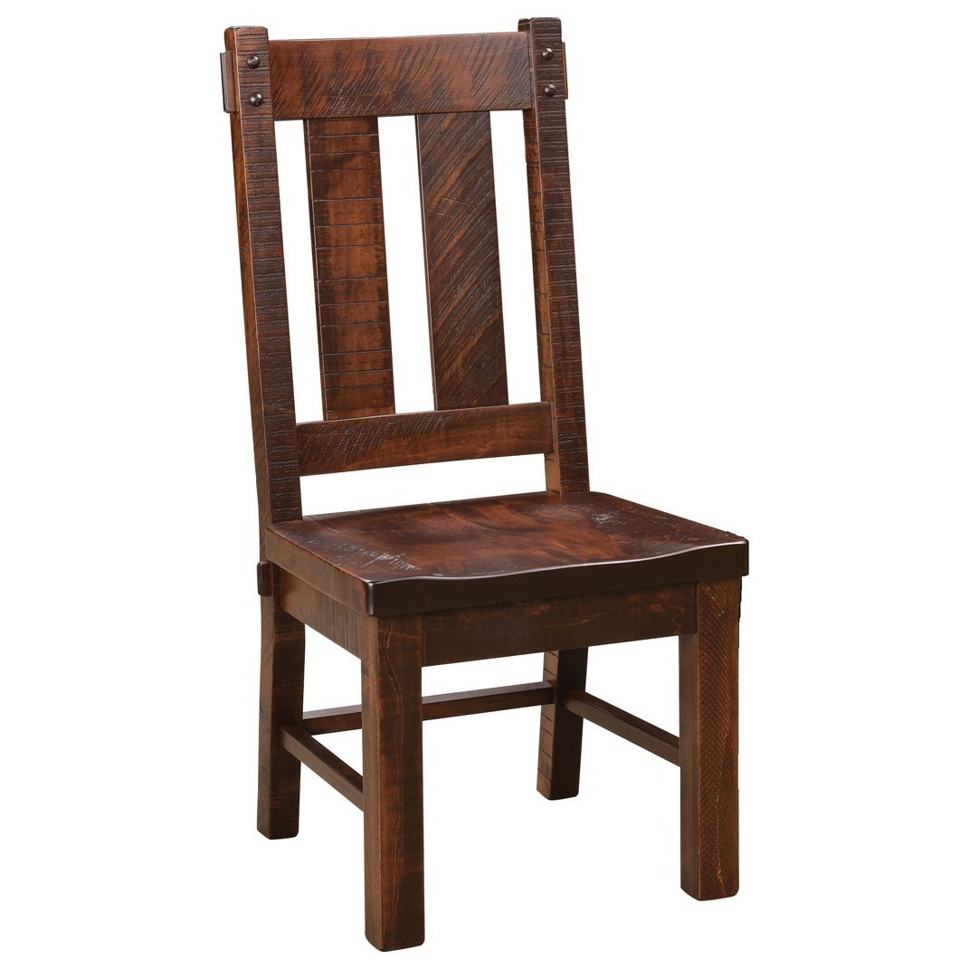Houston Customizable DIning Side Chair by Weaver Woodcraft at Saugerties Furniture Mart