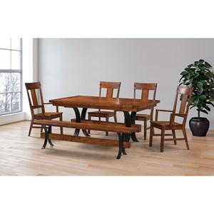 Customizable Table & Chair Set with Bench