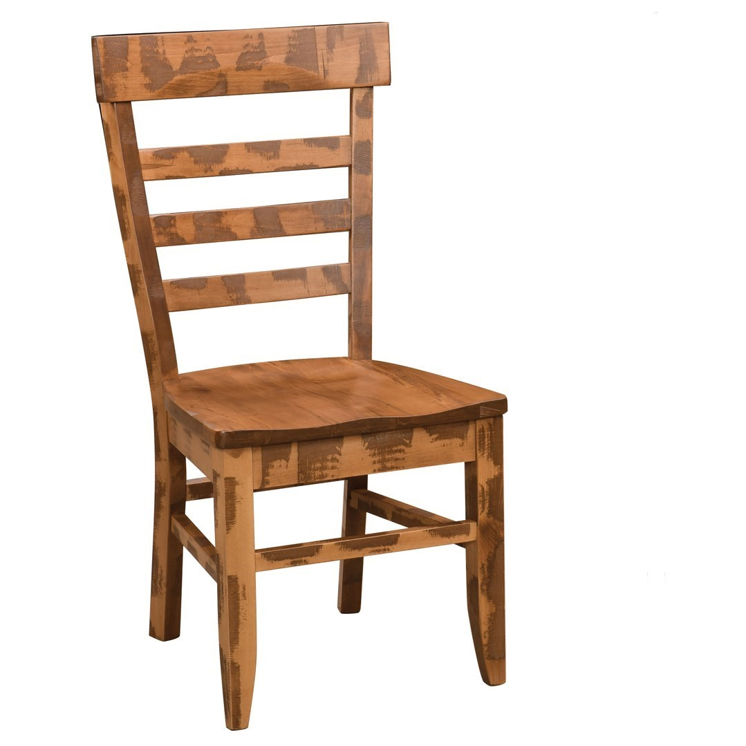 Keystone Customizable Dining Side Chair by Weaver Woodcraft at Saugerties Furniture Mart