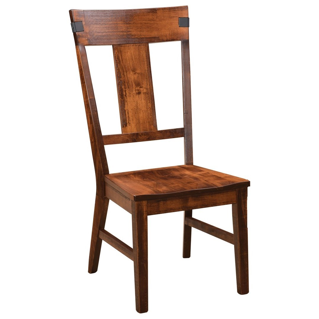Lahoma Customizable Dining Side Chair by Weaver Woodcraft at Saugerties Furniture Mart