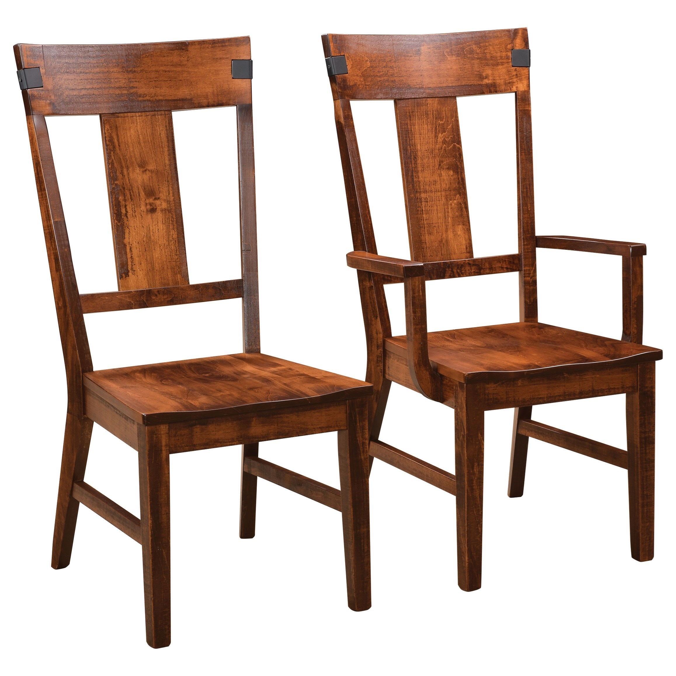 Lahoma Customizable Dining Arm Chair by Weaver Woodcraft at Saugerties Furniture Mart