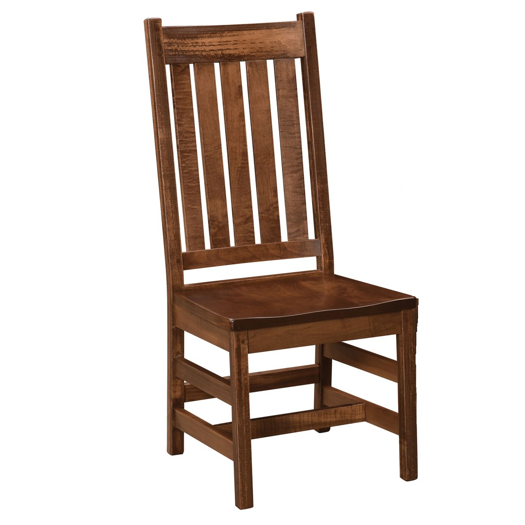 Williamsburg Customizable Dining Side Chair by Weaver Woodcraft at Saugerties Furniture Mart