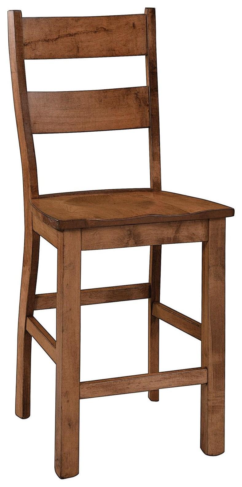 "Amhurst 30"" Stationary Stool by Wengerd Wood Products at Wayside Furniture"
