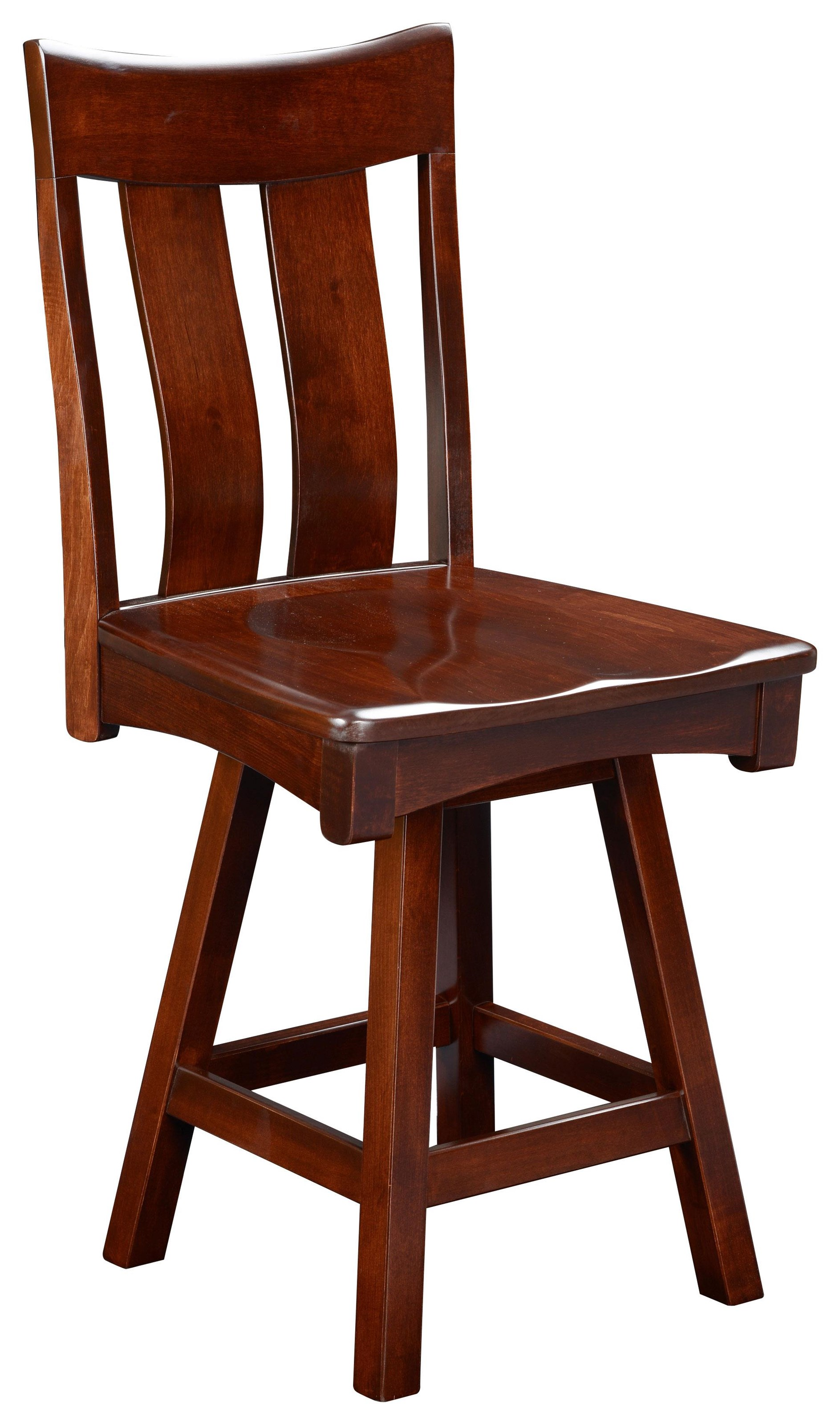 """Galion G2 24"""" Swivel Stool by Wengerd Wood Products at Wayside Furniture"""