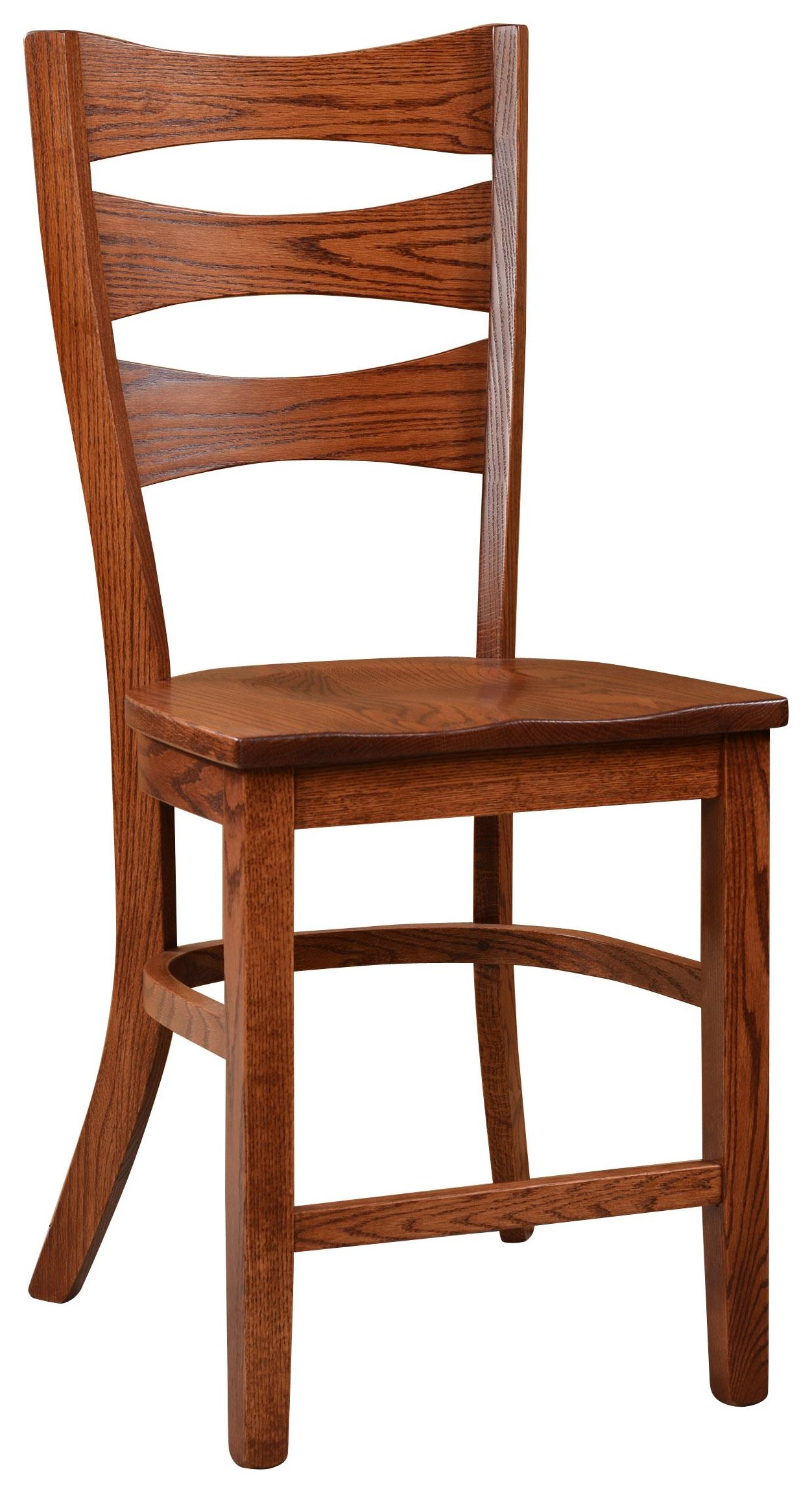 """Sierra 24"""" Stationary Stool by Wengerd Wood Products at Wayside Furniture"""