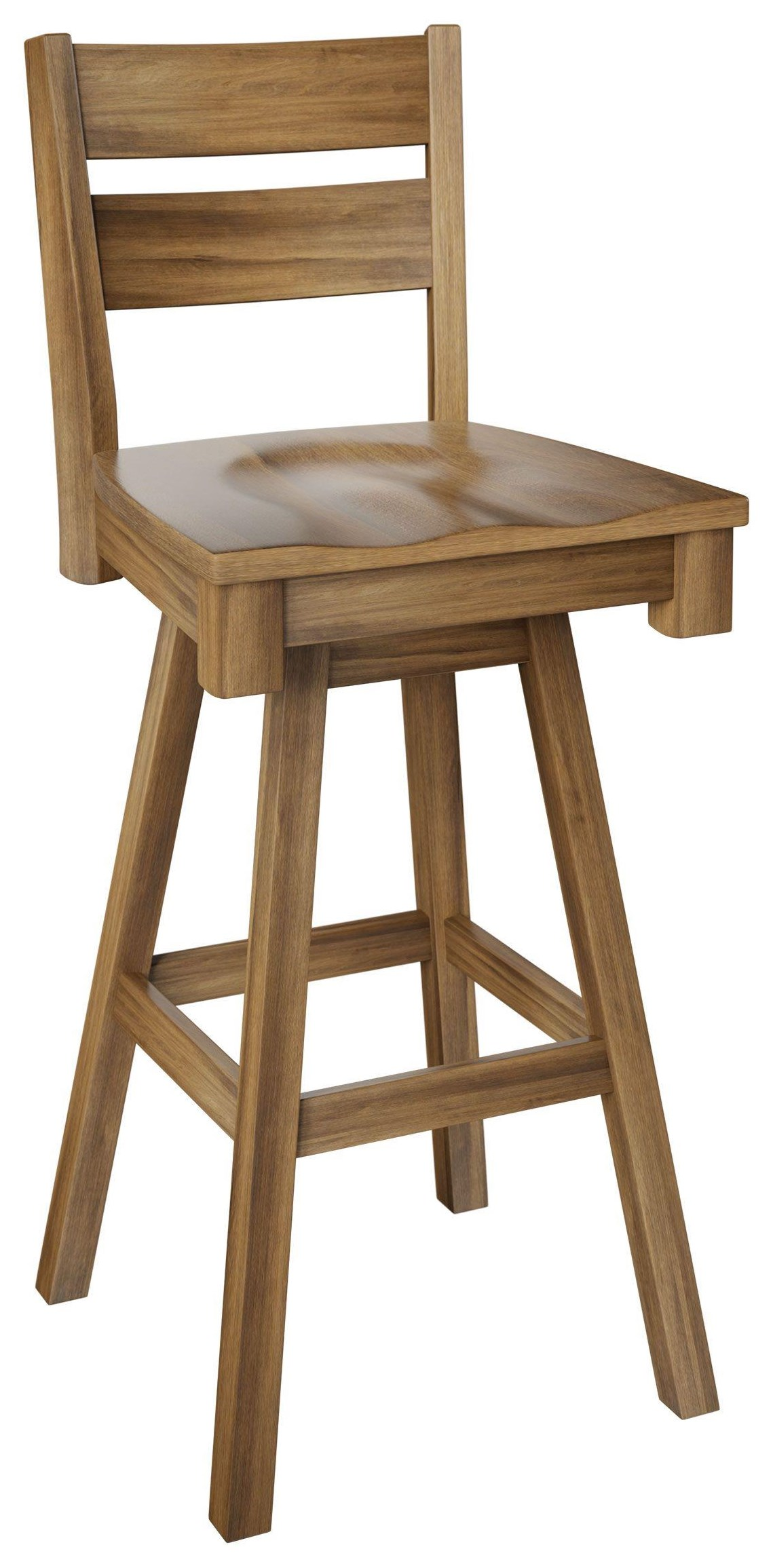 """Winston 30"""" Swivel Stool by Wengerd Wood Products at Wayside Furniture"""