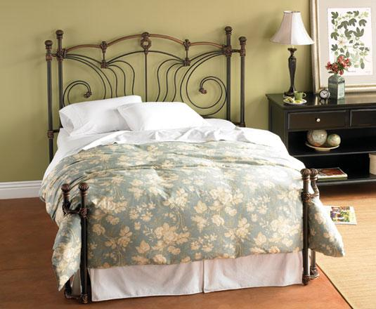 Iron Beds Queen Chelsea Iron Bed by Wesley Allen at Baer's Furniture