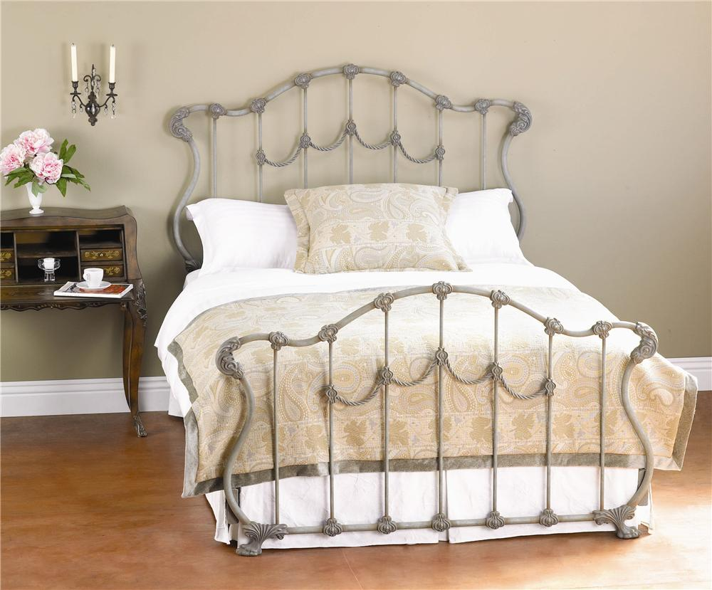 Iron Beds Queen Hamilton Iron Bed by Wesley Allen at Baer's Furniture