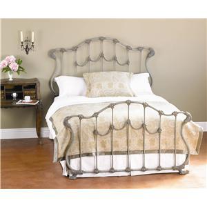 Queen Hamilton Iron Bed