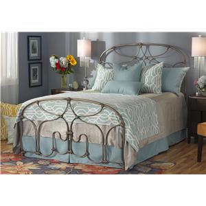 Queen Lafayette Metal Bed