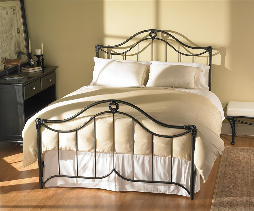 Iron Beds King Montgomery Iron Bed by Wesley Allen at Baer's Furniture