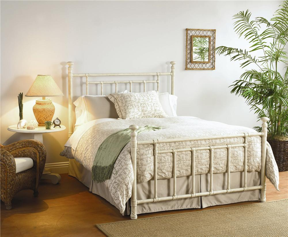 Iron Beds Full Blake Poster Bed  by Wesley Allen at Baer's Furniture