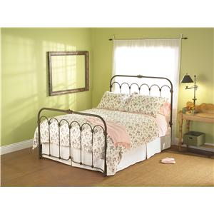 King Hillsboro Iron Headboard and Footboard Bed