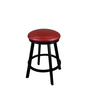 "30"" Edmonton Bar Height Backless Swivel Stool"
