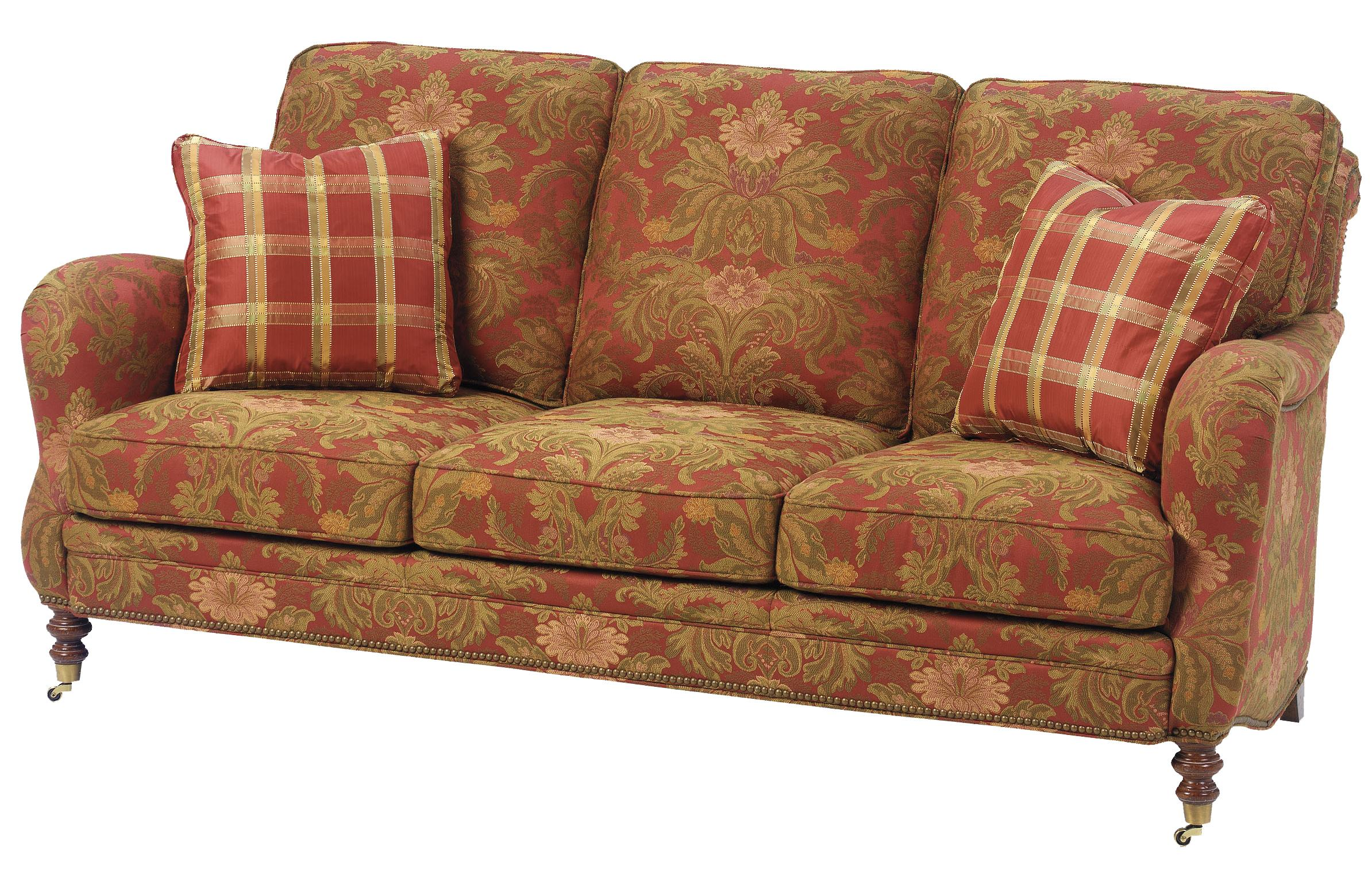1472 Stationary Sofa by Wesley Hall at Jacksonville Furniture Mart