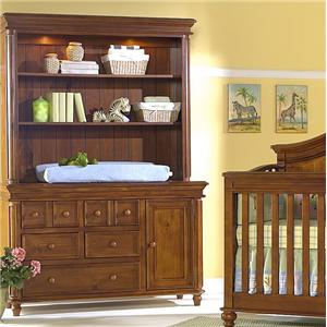 Westwood Design Cypress Point Dressing Combo Plus with Hutch